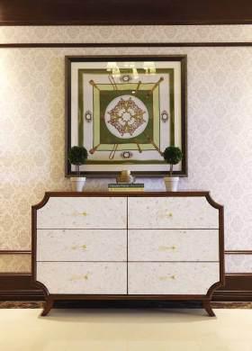 新古典主义收纳柜复古设计