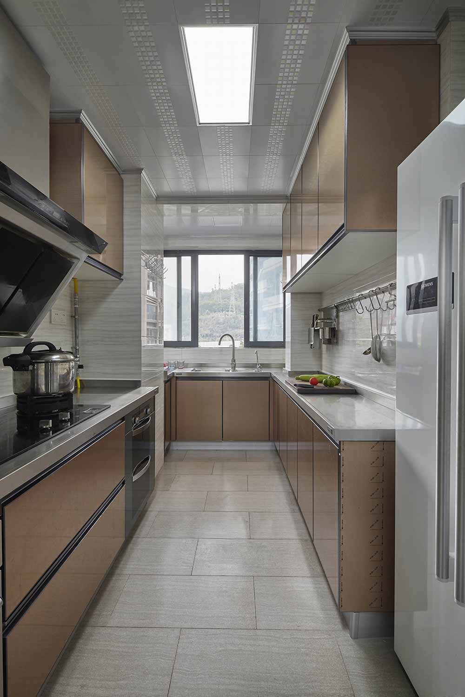 清爽简约设计厨房装修图片