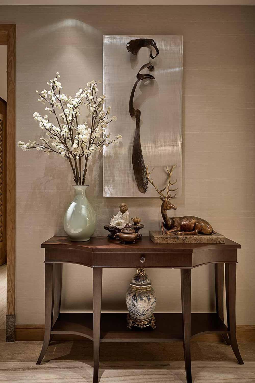 新中式风格收纳展示柜设计欣赏