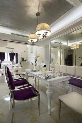清新明亮新古典主义餐厅装潢案例
