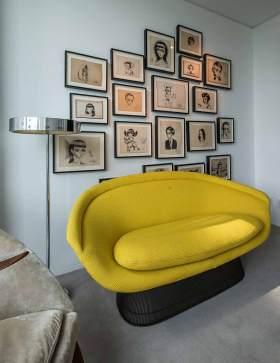 创意个性现代风格照片墙布置欣赏