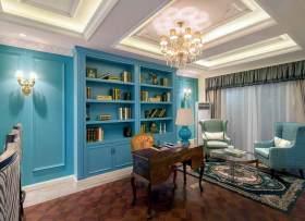 舒适美式风格书房装修设计