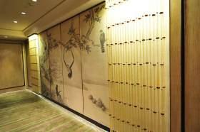 文艺雅致中式背景墙装修布置