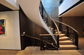 现代设计时尚大气楼梯装潢