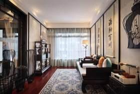 中式风格古典休闲室装修布置