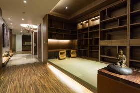 中式现代和室装修效果图