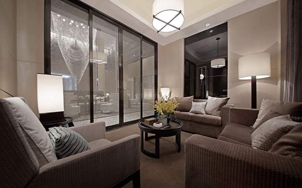 现代简约时尚家居客厅装潢设计