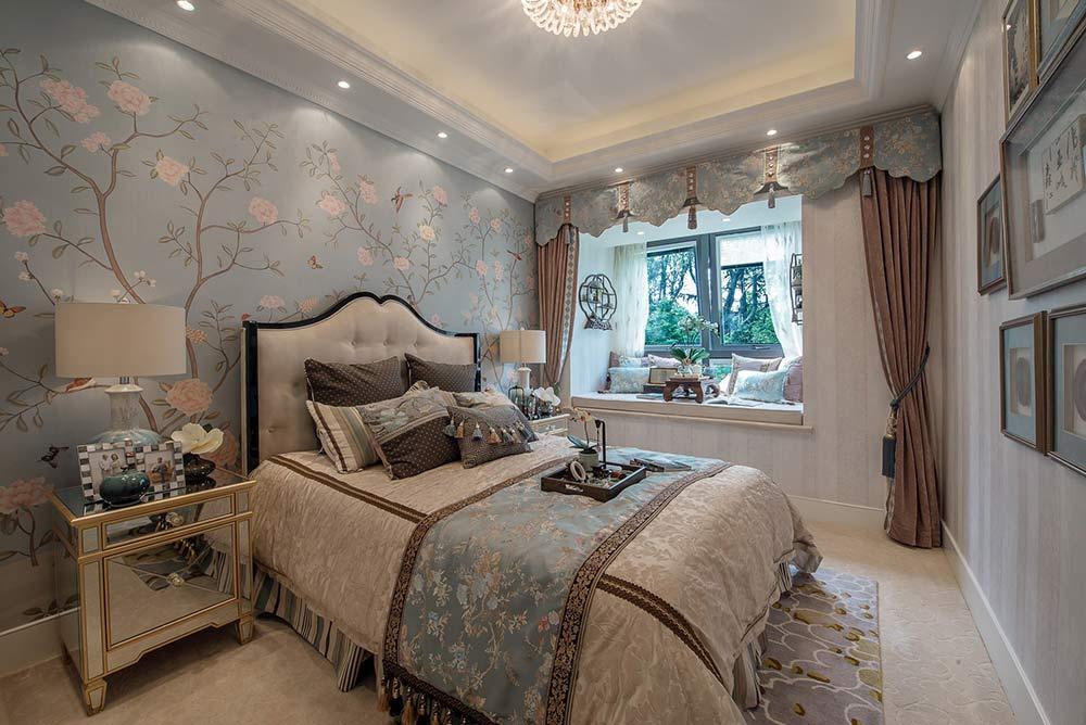 2016欧式古典美卧室装修设计图