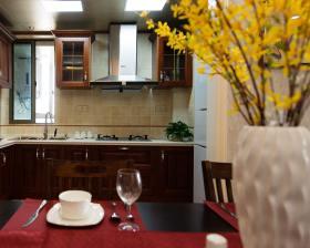 田园休闲装修厨房设计图