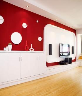 现代风格电视背景墙装修设计