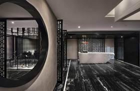 2016中式别墅典雅过道设计欣赏