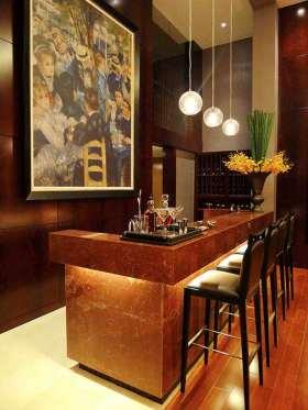 2016现代风格质感吧台装修案例