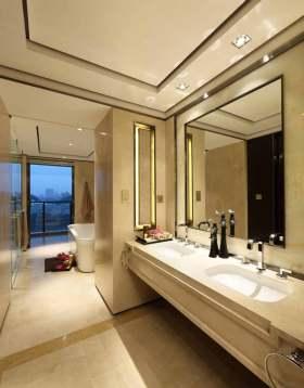 新古典简洁卫生间设计欣赏