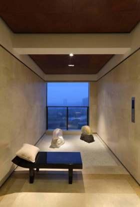 现代简洁时尚室内一角装修案例