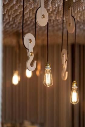 现代质感吊灯设计