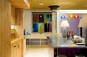 时尚创意混搭风格厨房布置