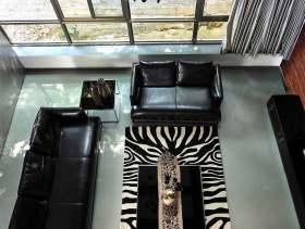 奢华大气现代风格复式客厅装修图