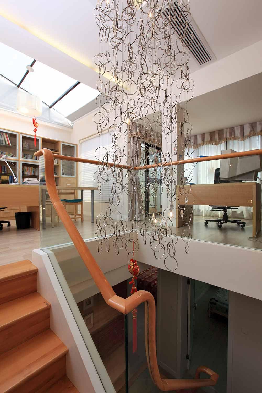 2016时尚个性现代风格楼梯设计图