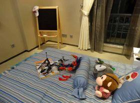 可爱现代简约儿童房布置