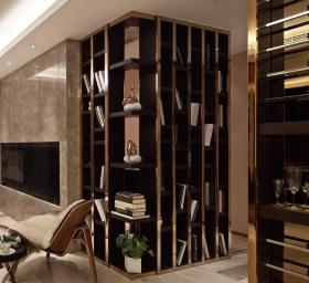 华丽时髦现代风格收纳区域展示