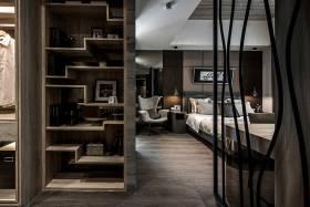 典雅时尚现代风格卧室收纳装修