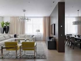 2016个性简欧风格客厅设计图