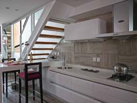 2016白色简约厨房设计布置