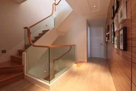 自然原木简约风格楼梯设计图