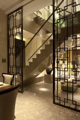 时尚现代新古典楼梯效果图