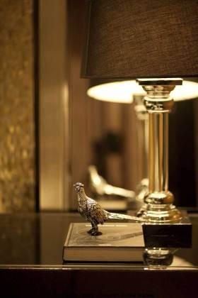 金色简欧风格卧室装饰品欣赏