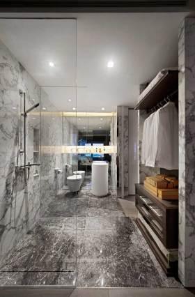 实用现代风格浴室柜设计图