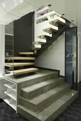 简约时尚楼梯设计图