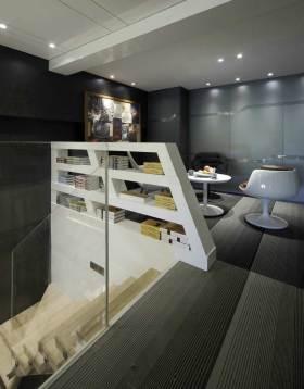 艺术个性简约风格阁楼休闲区域展示