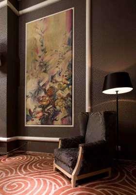 新古典风格油画装饰背景墙