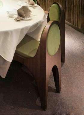 时尚新古典风格餐桌椅设计