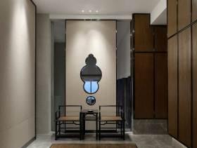 时尚典雅中式风格过道设计