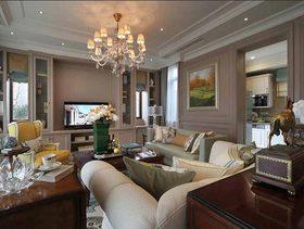 优雅欧式风格客厅装修美图