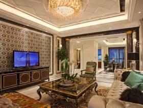 华美欧式新古典风格客厅欣赏