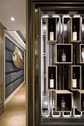 高端雅致新古典主义酒柜装潢欣赏