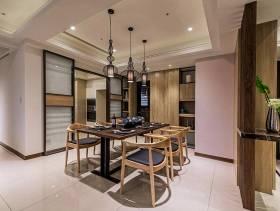 中式风格现代家居餐厅装修布置