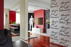现代时尚艺术背景墙装饰展示