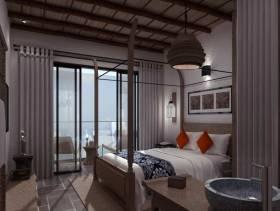 2016优雅大方中式设计卧室装修布置