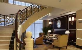 简欧风格别墅楼梯设计精品案例