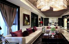 精致品味新古典主义客厅设计案例