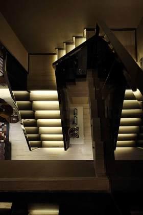 创意前卫现代风格楼梯设计整体效果图