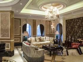 精品雅致欧式风格家装客厅装修案例