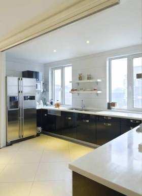 2016简约大方厨房设计整体效果图