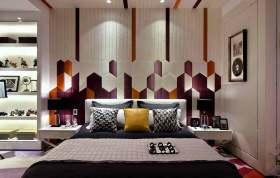 摩登前卫现代风格卧室装饰布置
