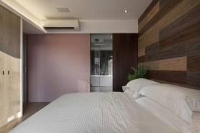 清新雅致紫色系简约风格卧室装潢
