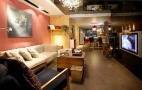 时尚多元素现代风格客厅装修